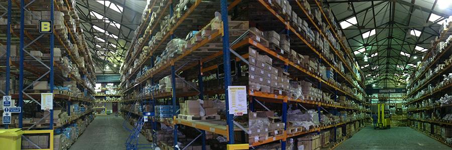 SRM Fasteners West Midlands warehouse